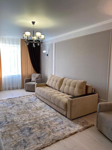 2-ухкомнатная современная новая квартира в центре города, Qostanay