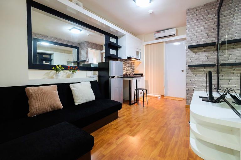 Modern Design 2 Bedrooms at Bassura City Apartment, East Jakarta