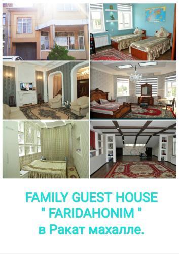"""FARIDAHONIM"" Family Guest House, Tashkent City"