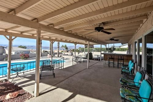 Private Oasis with Pool & Views, 2 Mi to Lake Havasu!, Mohave