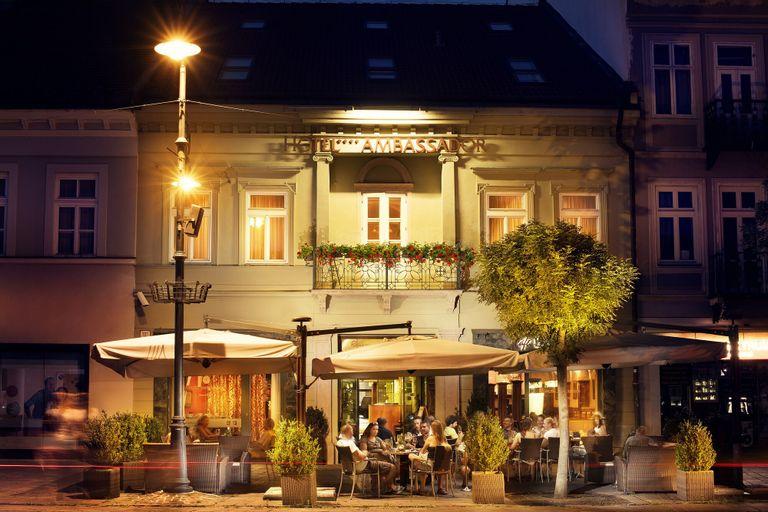 Hotel Ambassador, Košice I