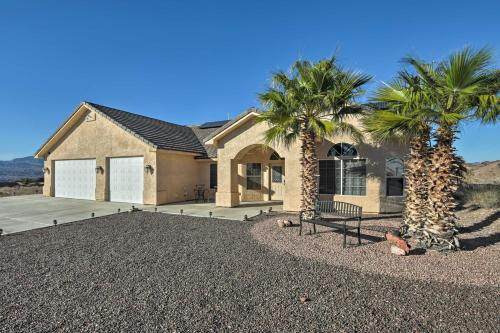 Bullhead City Home with Mtn Views, Custom Pool & Spa, Mohave