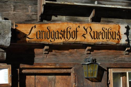 Landgasthof Ruedihus, Frutigen