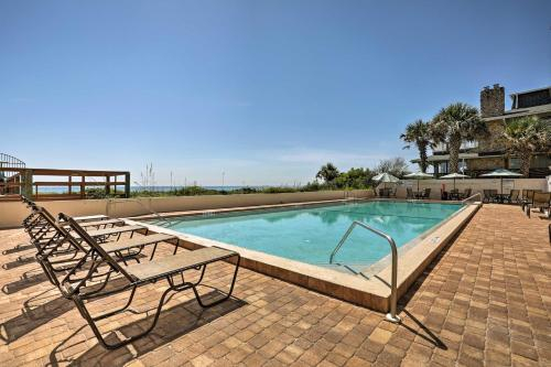 Oceanfront St Augustine Condo with Pool-Walk to Beach, Saint Johns