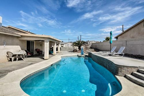 Lake Havasu City Home with Pool and Boat Parking!, Mohave