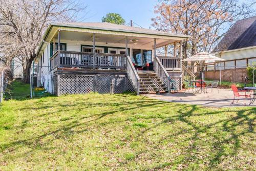 Waterfront Home with Private Dock on Cedar Creek Lake, Henderson