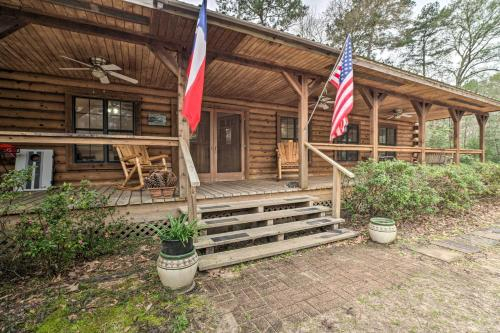 Secluded Texas Getaway with 25 Acres and Private Yard, San Jacinto