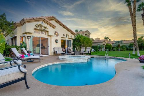Posh Country Club Home with Private Pool & Spa home, Riverside