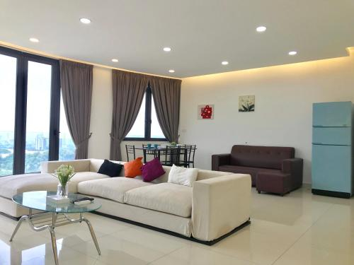 Cozy 3BR Family Suites with Amazing View @ Level39, Pulau Penang