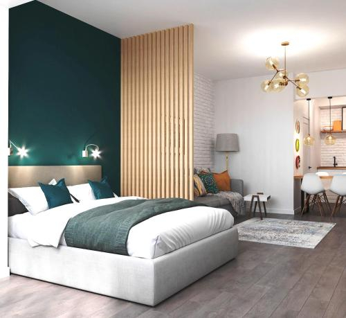 Green Studio Apartment, Tashkent City