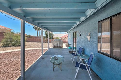 Single-Story Home with Patio, 6MI to Lake Mohave, Mohave