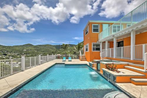 Christiansted House with Ocean-View Pool and Spa!, Christiansted