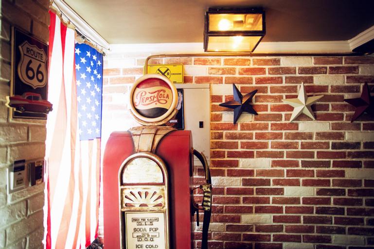 CT American Country Harley Davidson Style Theme Room, Sha Tin