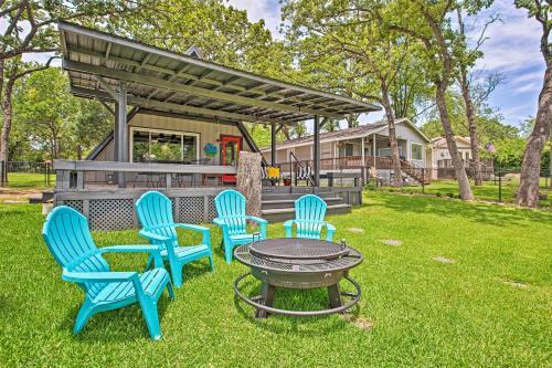 A-Frame Cabin with Dock & Bar on Cedar Creek LK!, Henderson