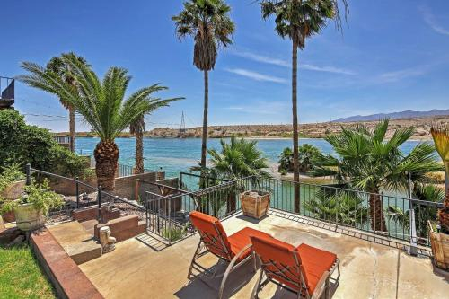 Restful Riverfront Retreat with Private Dock & Patio!, Mohave