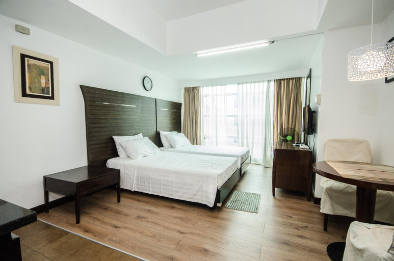 Central Ortigas renovated studio @ Lancaster Hotel, Mandaluyong