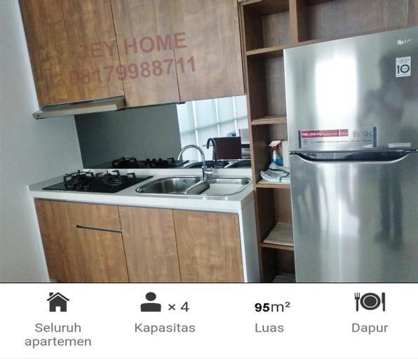 Apartemen Veranda@PURI 96m2 SANGAT LUAS, West Jakarta