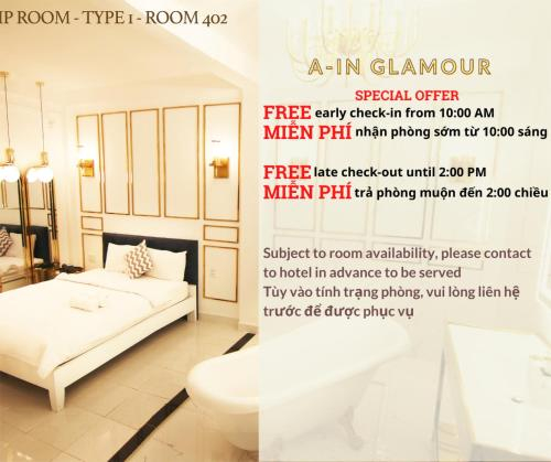 A in Hotel Glamour, Quận 2