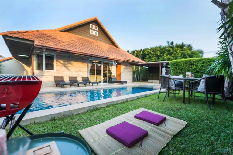AnB Poolvilla Grand Modern 3BR Jomtien for 10pax, Bang Lamung