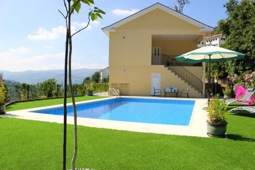 Villa With 3 Bedrooms in Montinho, With Private Pool, Enclosed Garden and Wifi - 1 km From the Beach, Resende