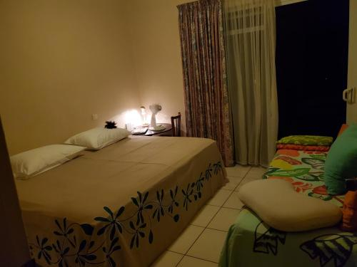 Kohutahia Lodge Tahiti Room pick-up needed 7 minutes by car from airport and Town,