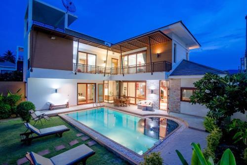Dolphin Bay Pool Villa, K. Sam Roi Yot