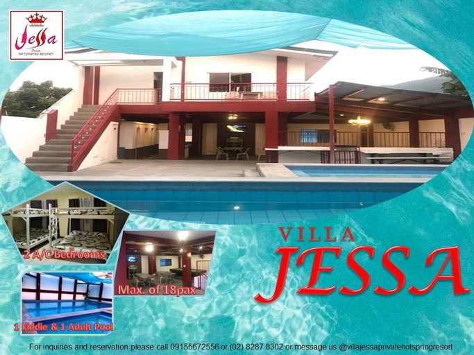 Villa Jessa Hot Spring Private Resort, Calamba City