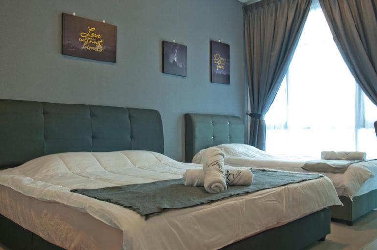 Molek Regency @ UHA Studio 3pax Cozy Luxury FWiFi, Johor Bahru