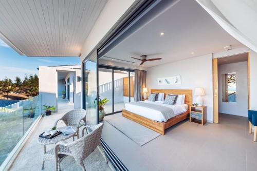 Twin Villas Natai North - 5 Bedroom Luxury Beach Front Villa, Takua Thung
