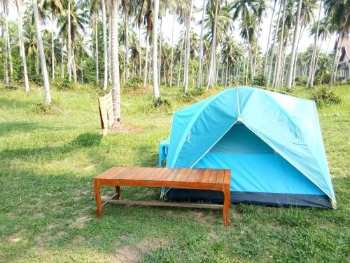 Tent Room at Tapao beach, K. Ko Kut