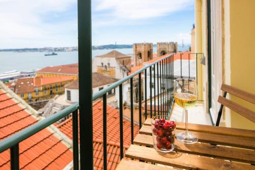 Alfama Balcony River View 11 by Lisbonne Collection, Lisboa