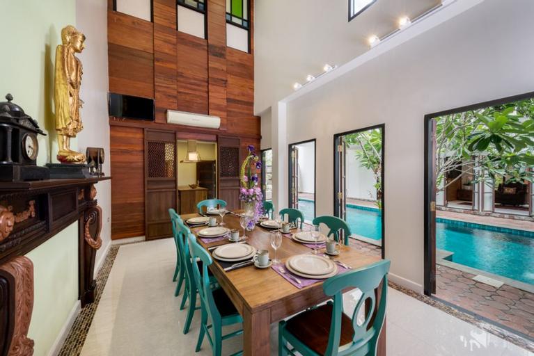 Thai style Villa With Private Pool, Muang Samut Prakan