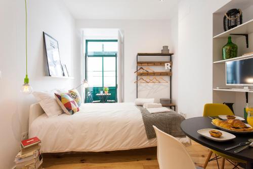 Modern New Studio in City Center- Green, Lisboa