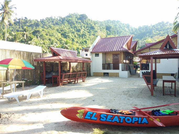 El Seatopia Beach Cottages, El Nido