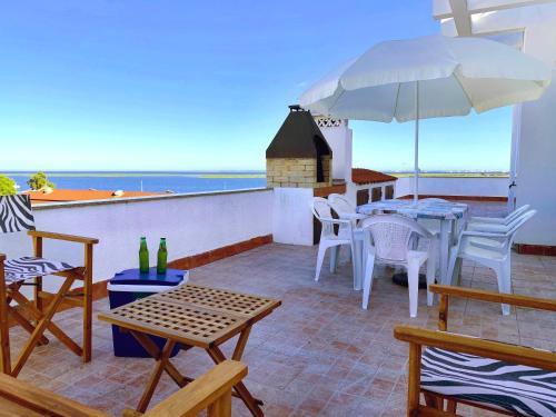 Rooftop Olhao-Algarve Apartamento com terraco vista mar, Olhão