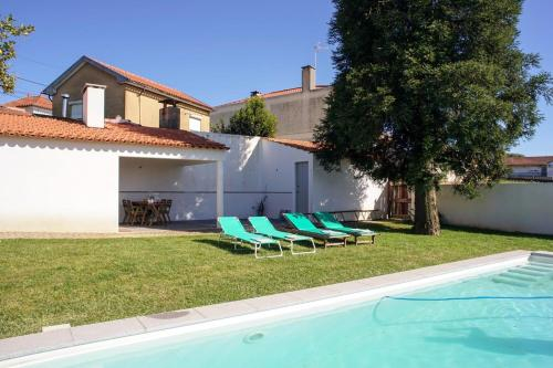 Villa with 4 bedrooms in Fradelos - Branca, with private pool, terrace and WiFi - 16 km from the bea, Albergaria-a-Velha