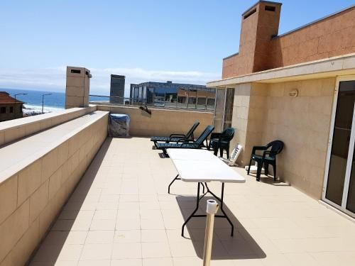 Apartment with 2 bedrooms in Vila do Conde with wonderful sea view furnished balcony and WiFi 200 m , Vila do Conde