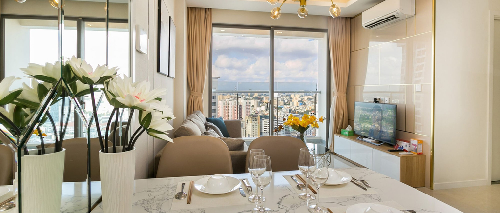 Henry Millenium Apartment Luxury 2BR, Quận 4