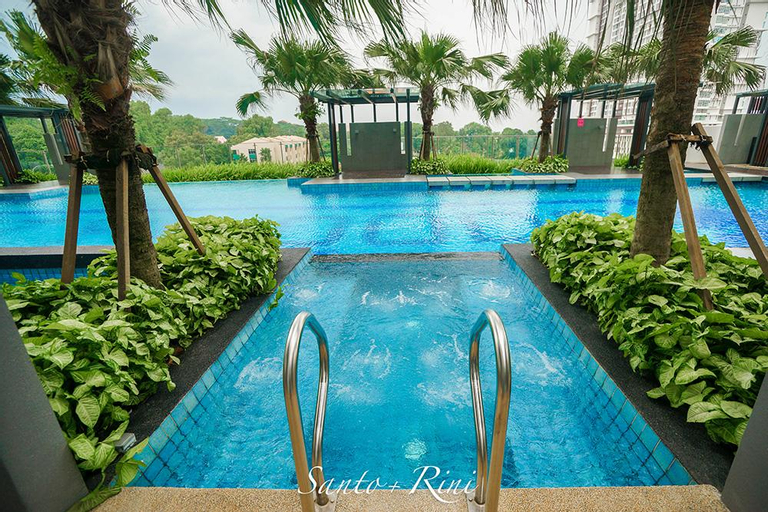 2BR Cozy Apartment @ JB CITY 4.7KM to CIQ, Johor Bahru
