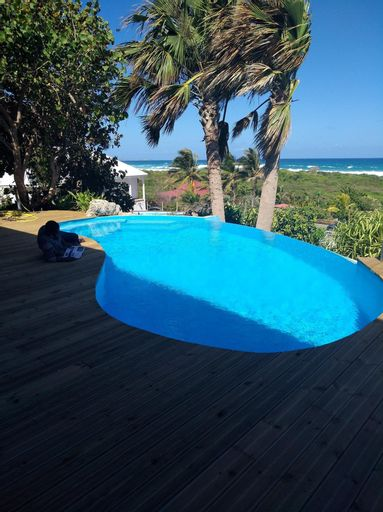 Villa With 2 Bedrooms in Moule, With Wonderful sea View, Private Pool,, Le Moule