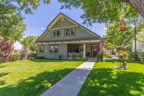 Historic Prescott Home with Yard Walk Downtown, Yavapai