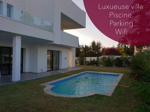 Très belle villa contemporaine, Soukra