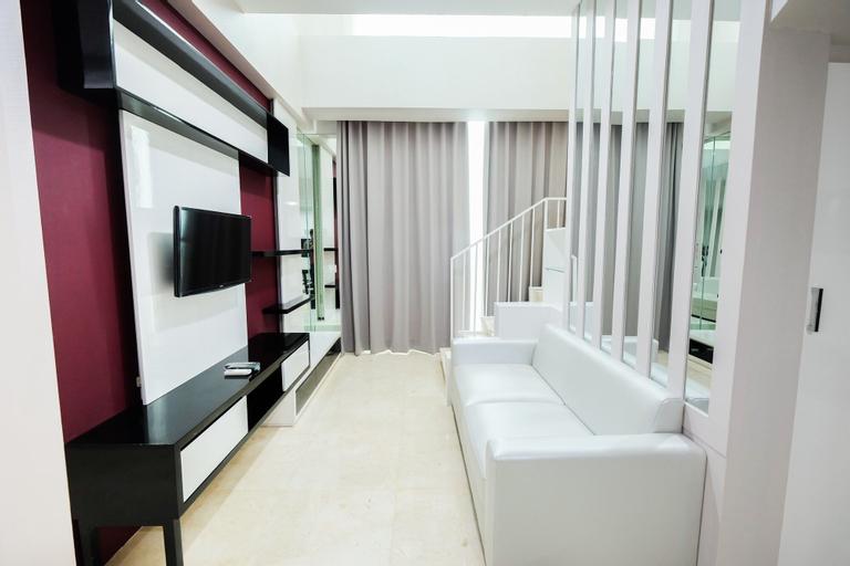 Luxurious 2BR Loft Apartment at Satu8 Residence, Jakarta Barat