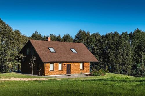 """Lakeside holiday house """"Beavers"""", Preili"""