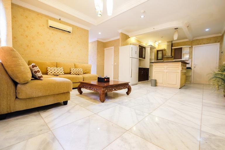Spacious 3BR Apartment Paladian Park Kelapa Gading near MOI, Jakarta Utara