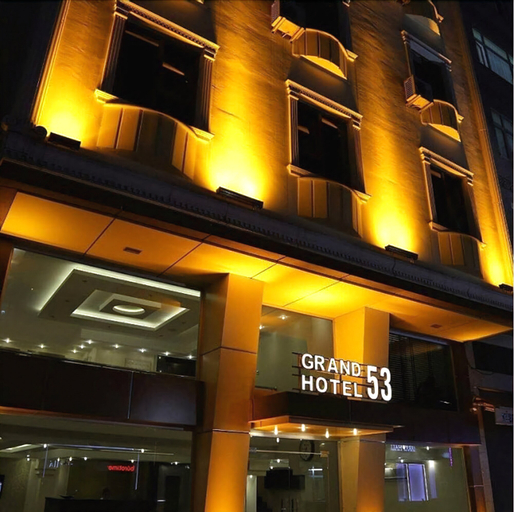 Grand Hotel 53, Merkez