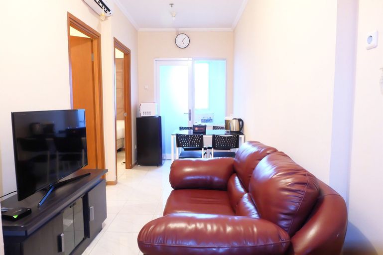 Homey 1BR at Puri Kemayoran Apartment By Travelio, Central Jakarta