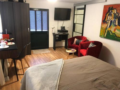 Room in BB - Boaventura Guest Room buddha, São Vicente