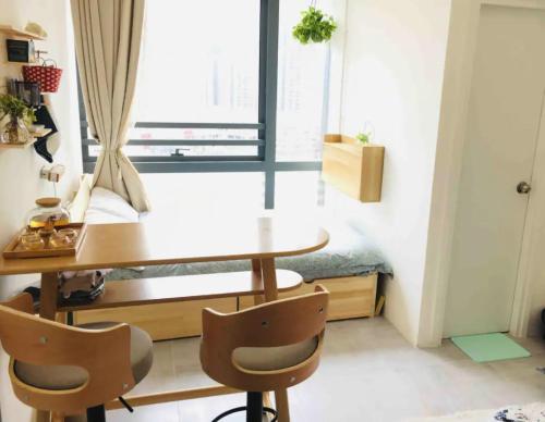 Bright Cozy Studio (8分鐘到太子/奧運), Yau Tsim Mong