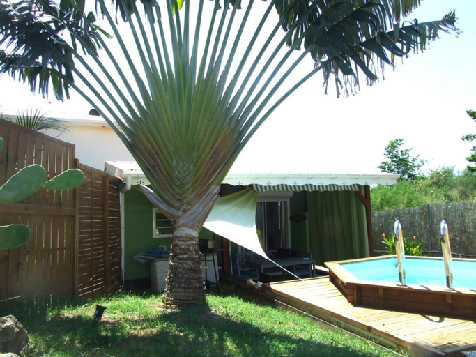Villa With one Bedroom in Sainte-luce, With Private Pool, Enclosed Garden and Wifi - 8 km From the Beach, Basse-Pointe